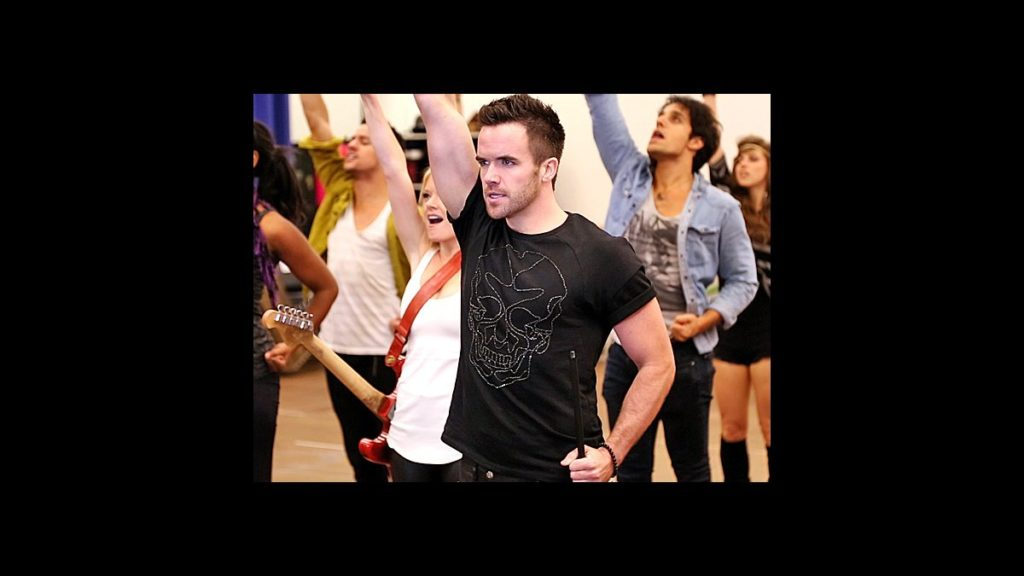 Behind the Scenes - We Will Rock You - tour - Brian Justin Crum - wide - 9/13