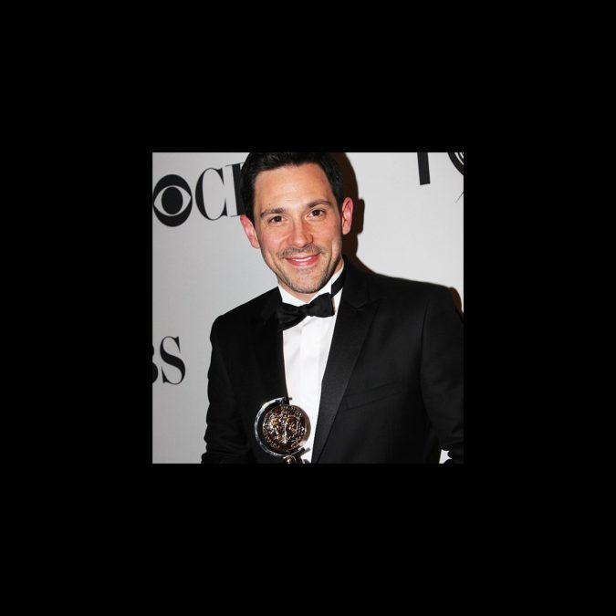 Tonys 2012 - Steve Kazee with trophy