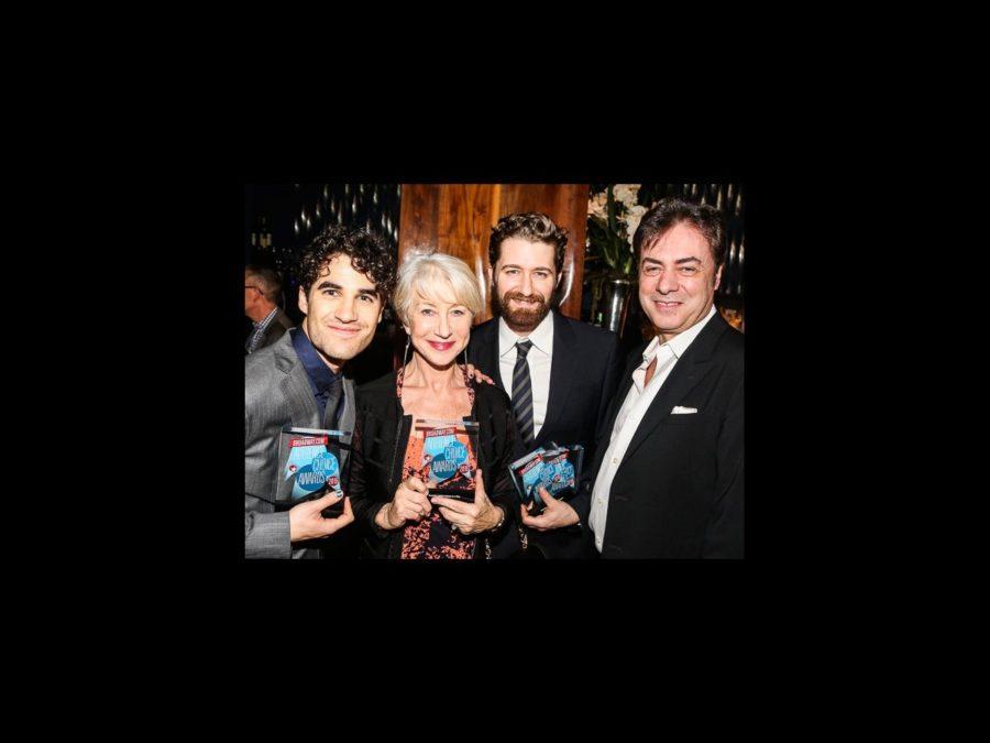 BACA 2015 - Darren Criss - Helen Mirren - Matthew Morrison - John Gore - 2/16