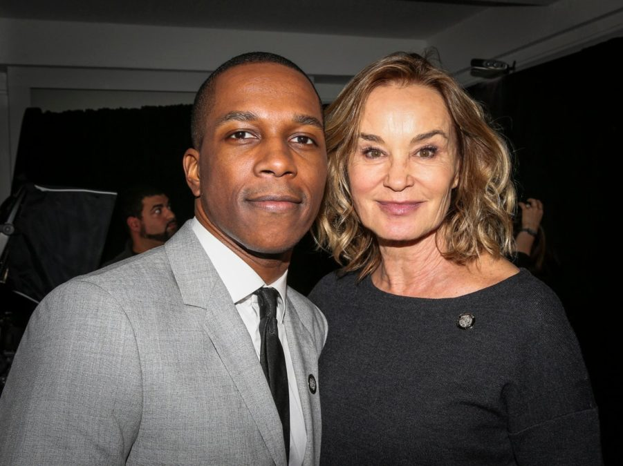 Leslie Odom Jr. - Jessica Lange - Tony Brunch - 5/16 - Caitlin McNaney