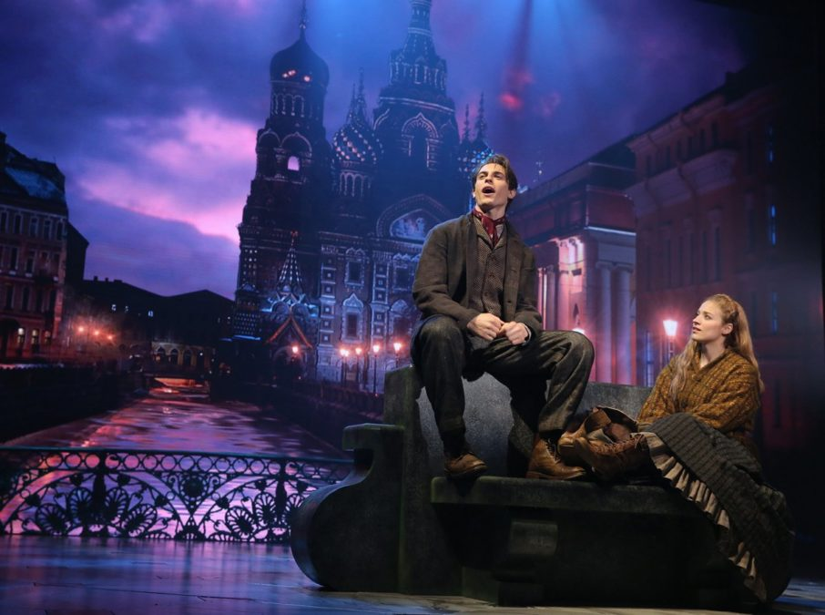PS - Anastasia - Derek Klena - Christy Altomare - Photo: Joan Marcus