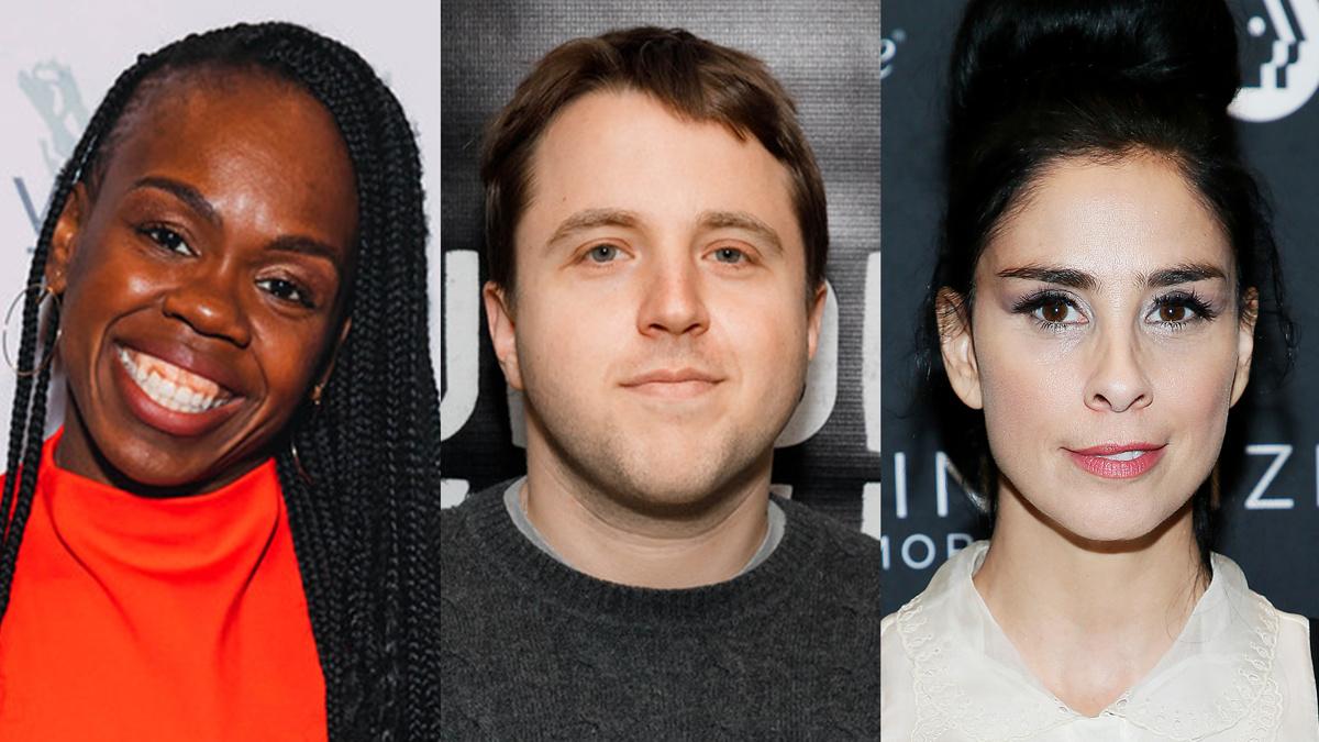 Ngozi Anyanwu - Joshua Harmon - Sarah Silverman - EMK and  Paul Morigi/Getty Images
